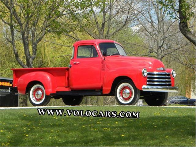 1953 Chevrolet 3100  Deluxe Stepside Short Bed 5 Window Pickup | 829374