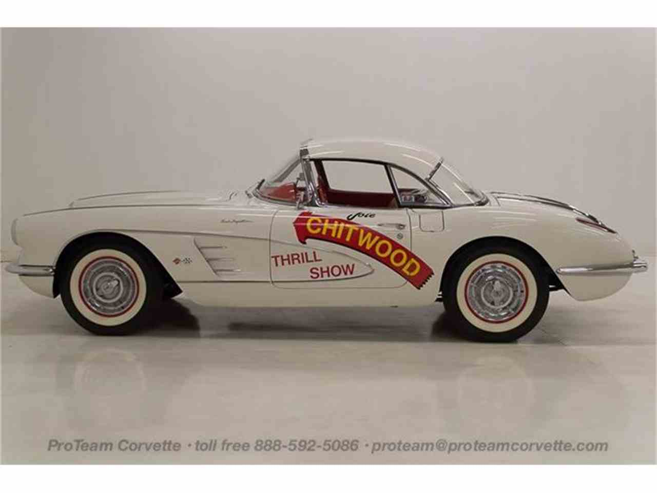 Large Picture of '58 Corvette - HSLN