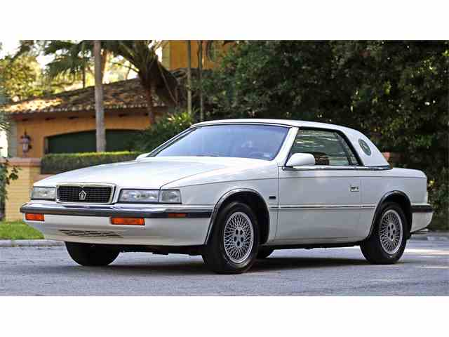 1990 Chrysler TC by Maserati | 832729