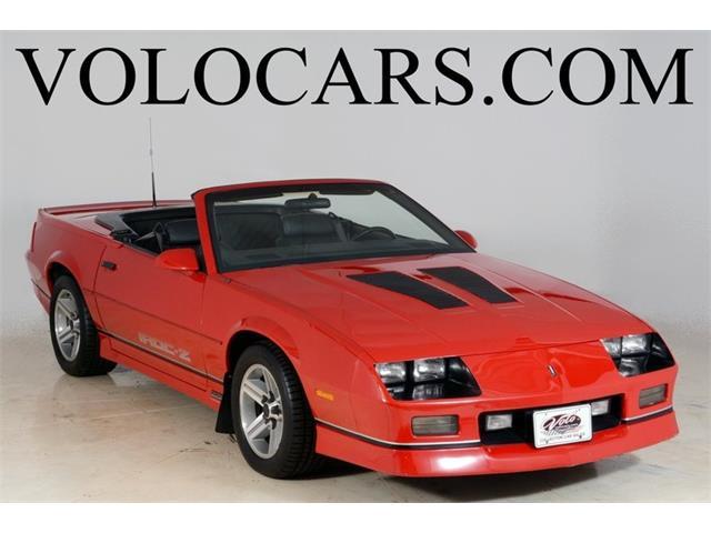 1987 Chevrolet Camaro IROC - Z | 832812