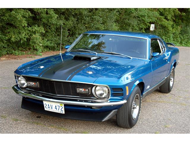 1970 Ford Mustang Mach 1 | 834553