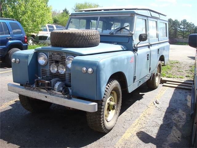 1966 Land Rover Series 109 | 834593