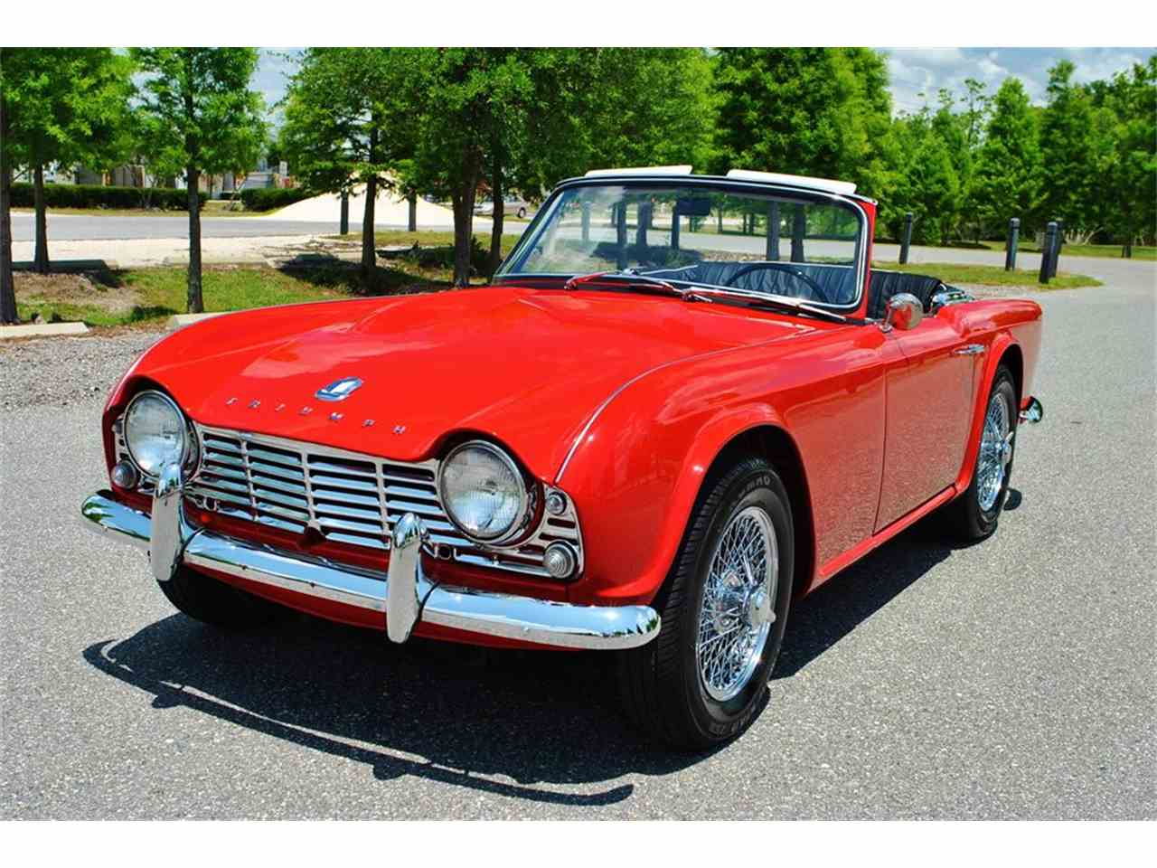 1962 triumph tr4 for sale cc 835403. Black Bedroom Furniture Sets. Home Design Ideas
