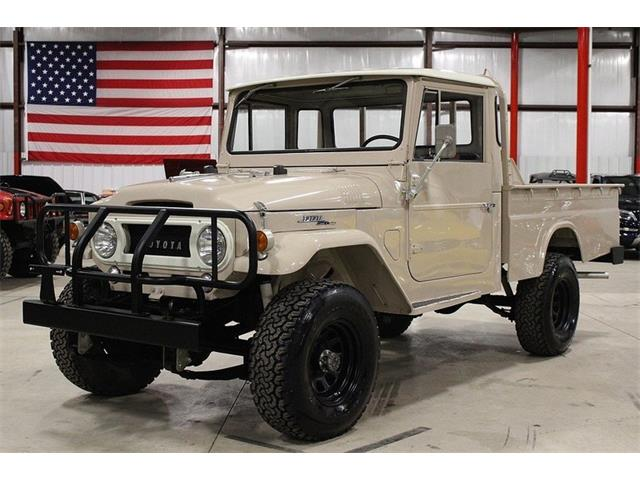classic toyota land cruiser fj45 for sale on 5 available. Black Bedroom Furniture Sets. Home Design Ideas