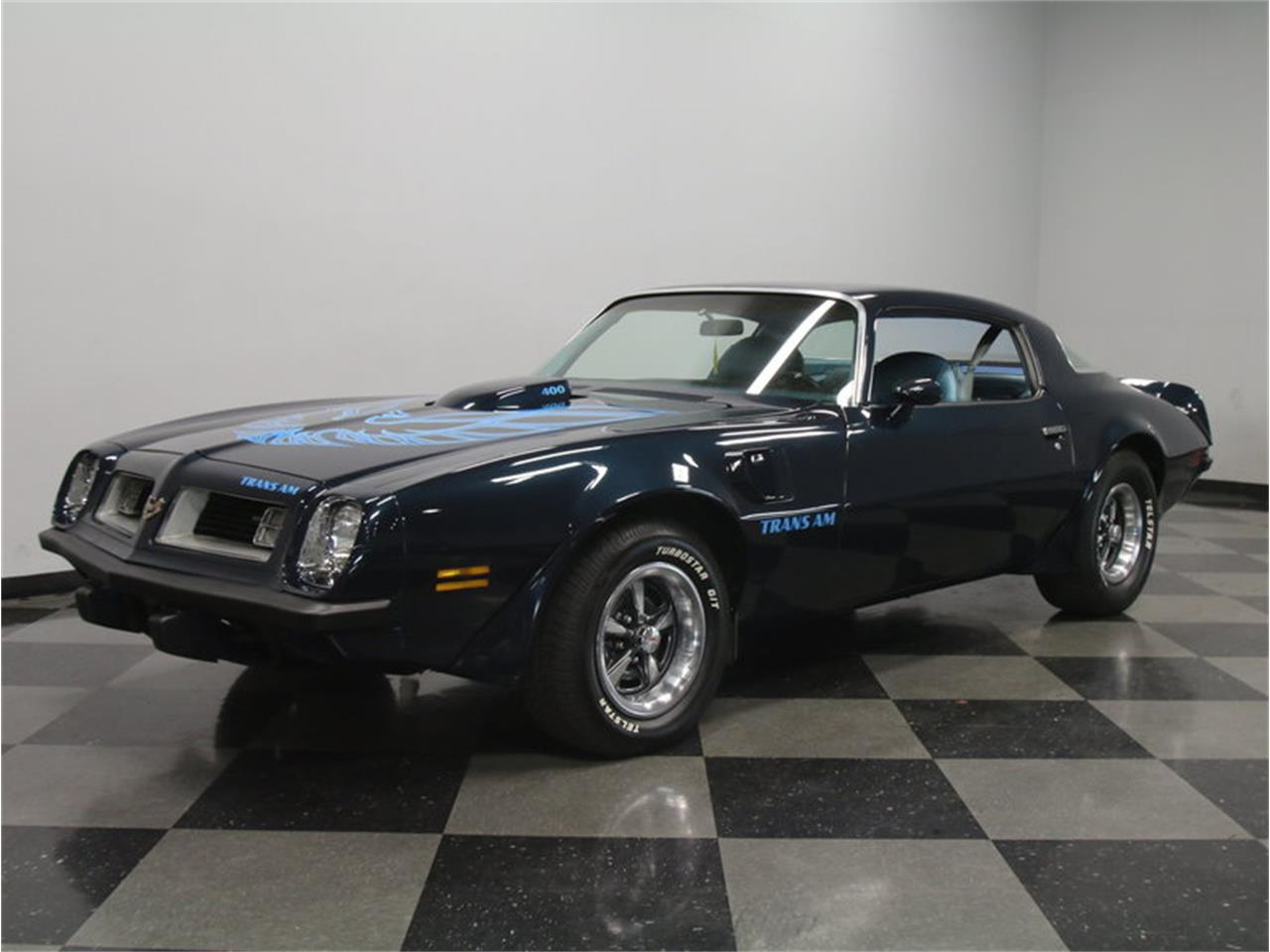 1975 pontiac firebird trans am for sale cc 836220. Black Bedroom Furniture Sets. Home Design Ideas