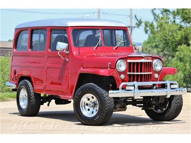 1954 Jeep-Willys Utility Wagon Custom Resto Mod | 836237