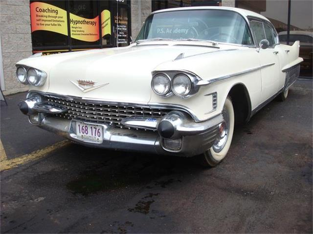 1958 Cadillac Fleetwood 60 Special factory tri power | 837468