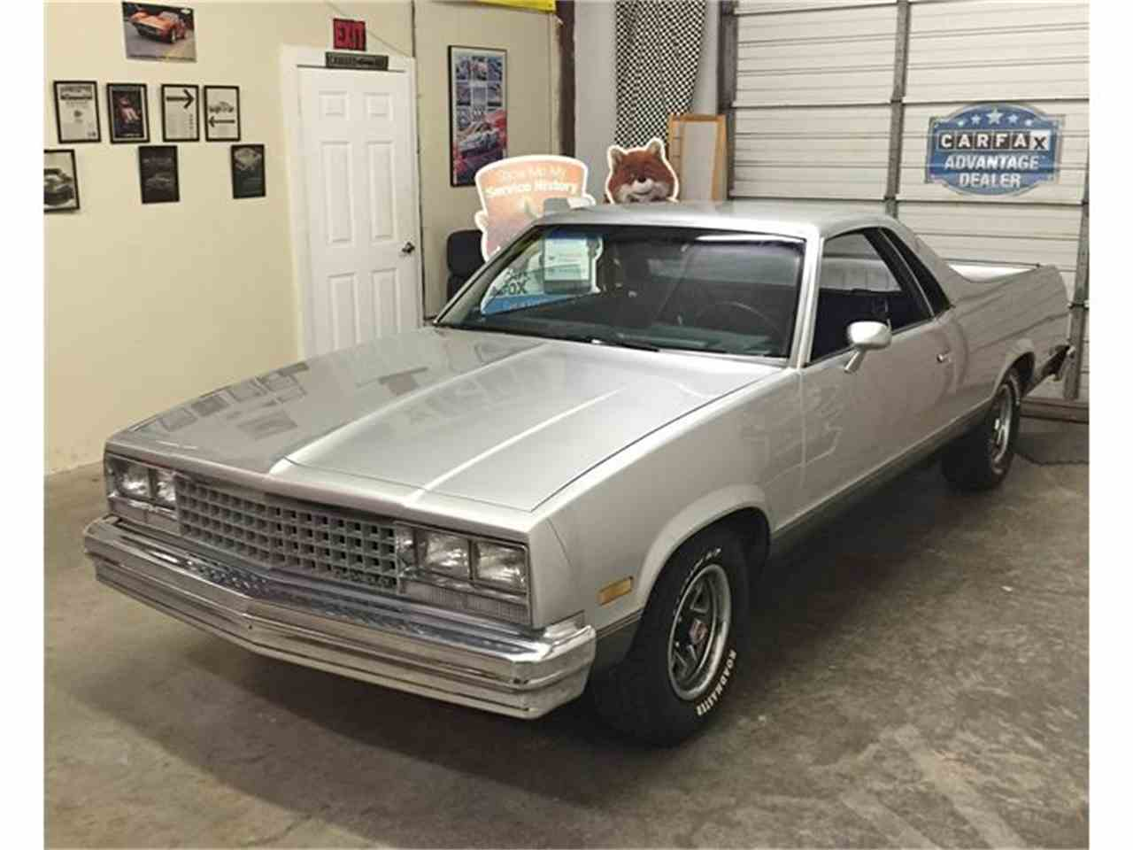 1986 Chevrolet El Camino for Sale on ClassicCarscom  5 Available