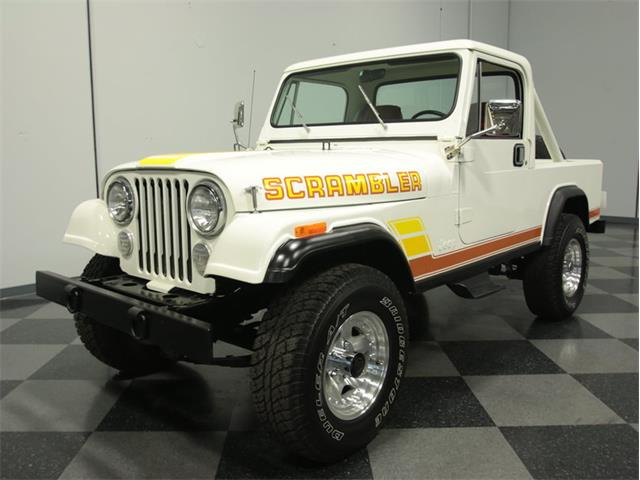 1984 Jeep CJ8 Scrambler | 839071