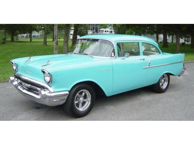 1957 CHEVROLET 150 2-DOOR POST | 839090