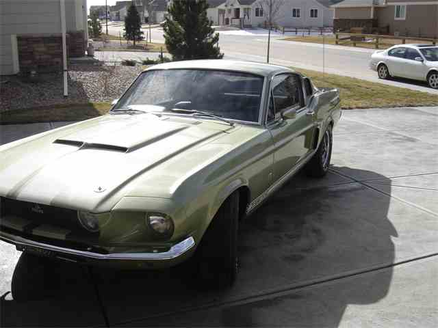 1967 Shelby GT500   840015