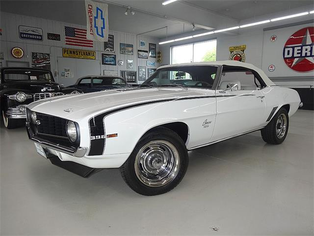 1969 CHEVROLET CAMARO SS CONVERTIBLE BIG BLOCK | 841619