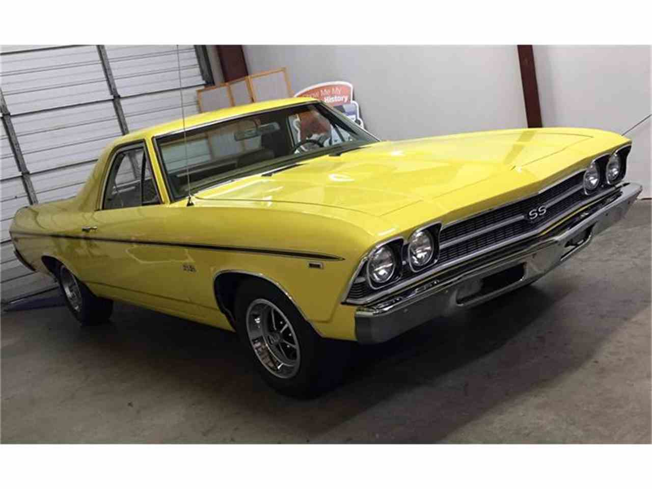 1969 chevrolet el camino ss 396 for sale cc 841847. Black Bedroom Furniture Sets. Home Design Ideas
