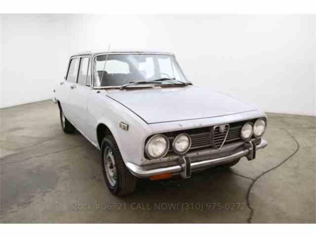 1971 Alfa Romeo Berlina 1750   842862