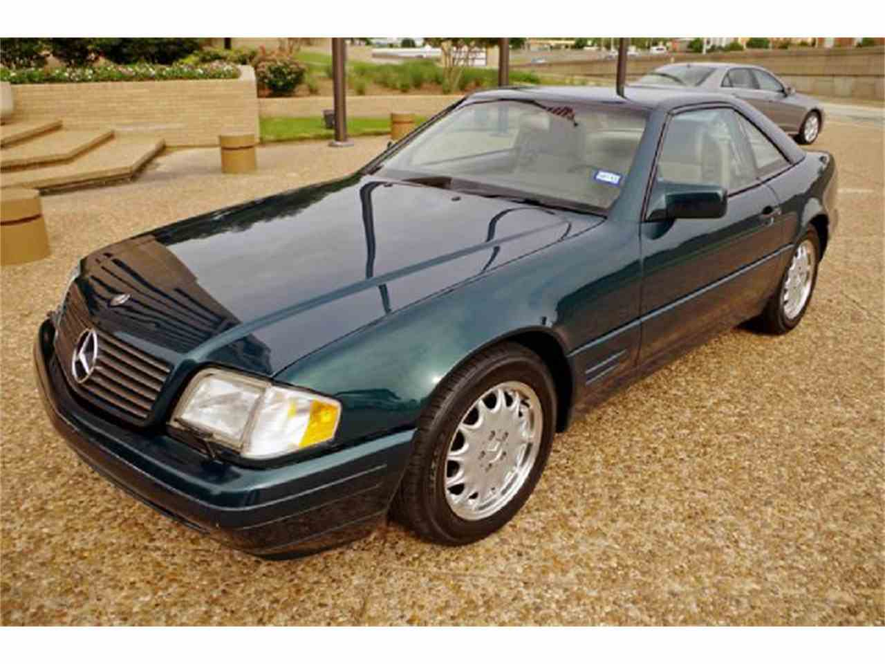 1996 mercedes benz sl class for sale for Mercedes benz for sale in texas