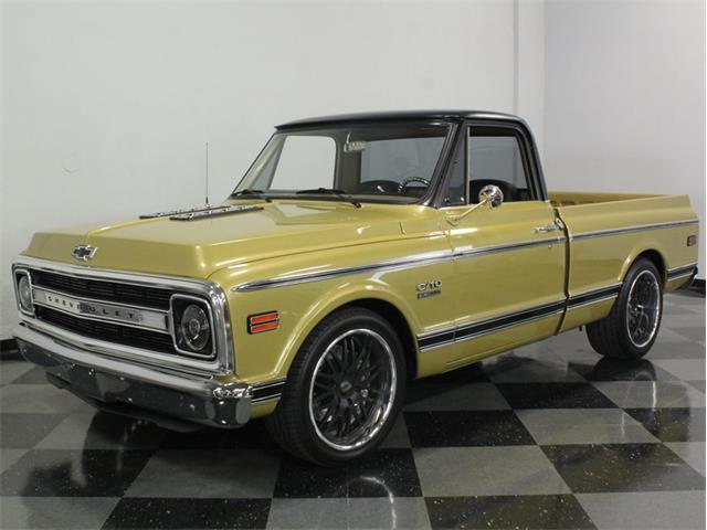 1970 Chevrolet C10 Restomod   840396