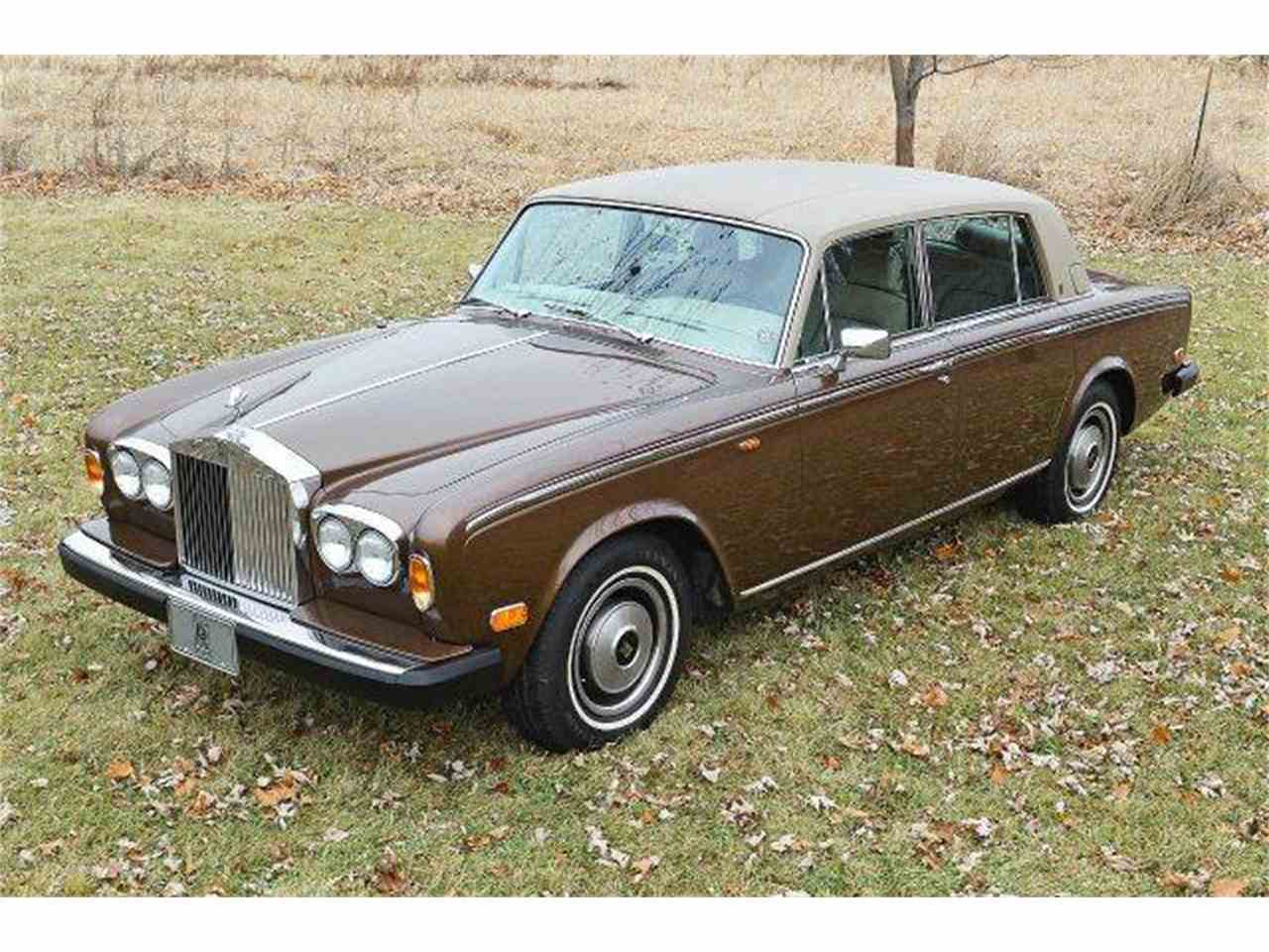 1980 rolls royce silver shadow for sale cc 844005. Black Bedroom Furniture Sets. Home Design Ideas