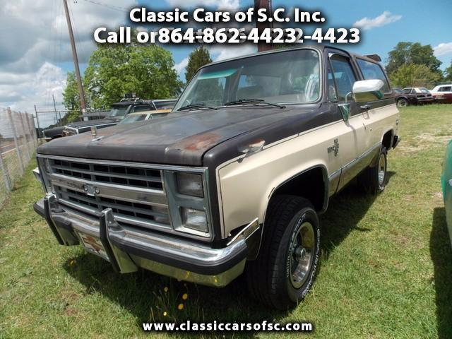 1985 Chevrolet C/K 10 Blazer   844121