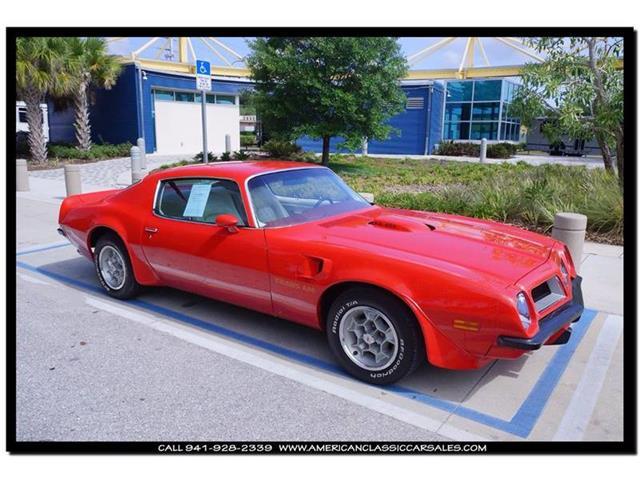 1974 Pontiac Trans Am SD 455 | 844244