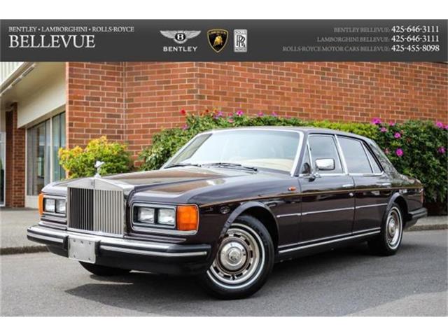 1981 Rolls-Royce Silver Spirit   845231