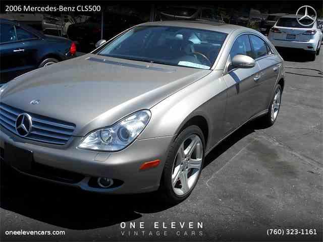 2006 Mercedes-Benz CLS500 | 840525