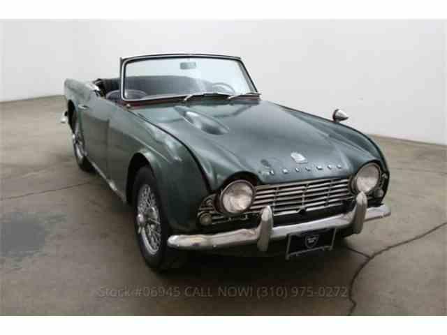 1963 Triumph TR4   845302