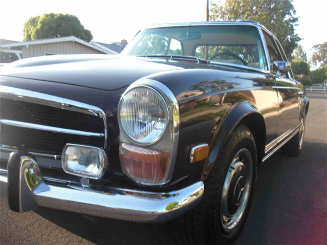 1971 mercedes benz 280sl for sale cc for Mercedes benz sherman oaks