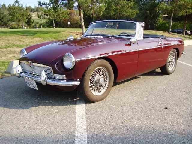 1963 MG MGB | 847623