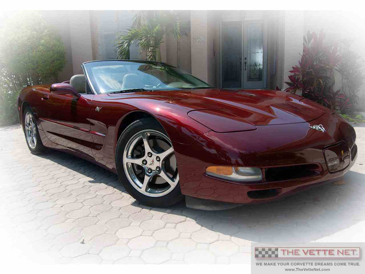 Large Picture of 2003 Corvette located in Sarasota Florida Offered by The Vette Net - I62B