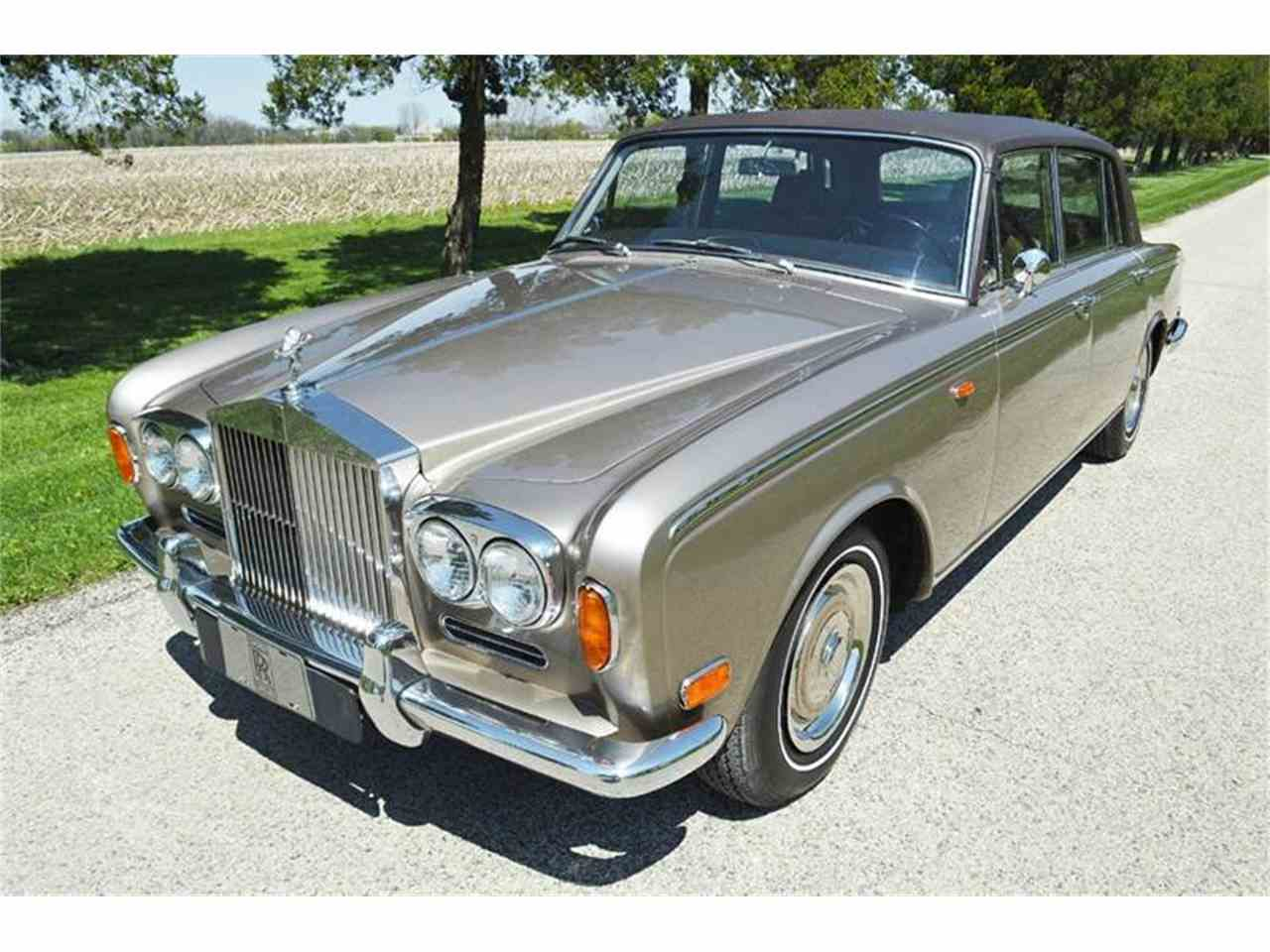 1969 rolls royce silver shadow for sale cc 847668. Black Bedroom Furniture Sets. Home Design Ideas
