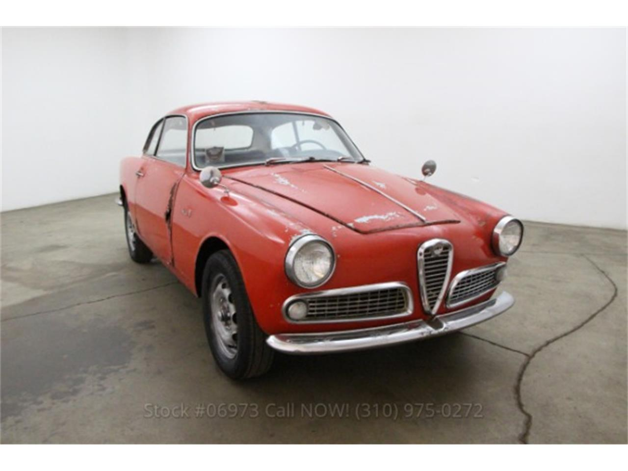 1964 alfa romeo giulietta spider for sale cc 847726. Black Bedroom Furniture Sets. Home Design Ideas