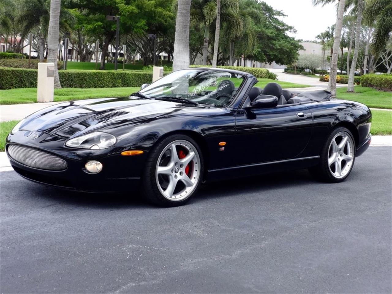 2005 jaguar xkr 100 for sale cc 848736. Black Bedroom Furniture Sets. Home Design Ideas