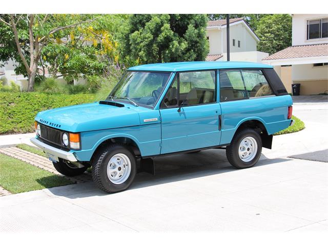 1976 Land Rover Range Rover | 849749
