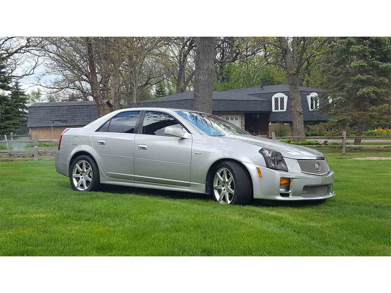 2005 cadillac cts v for sale cc 851404. Black Bedroom Furniture Sets. Home Design Ideas