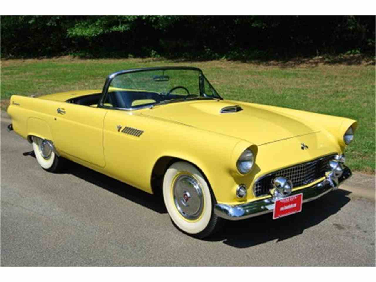 1955 ford thunderbird for sale cc 852600. Black Bedroom Furniture Sets. Home Design Ideas