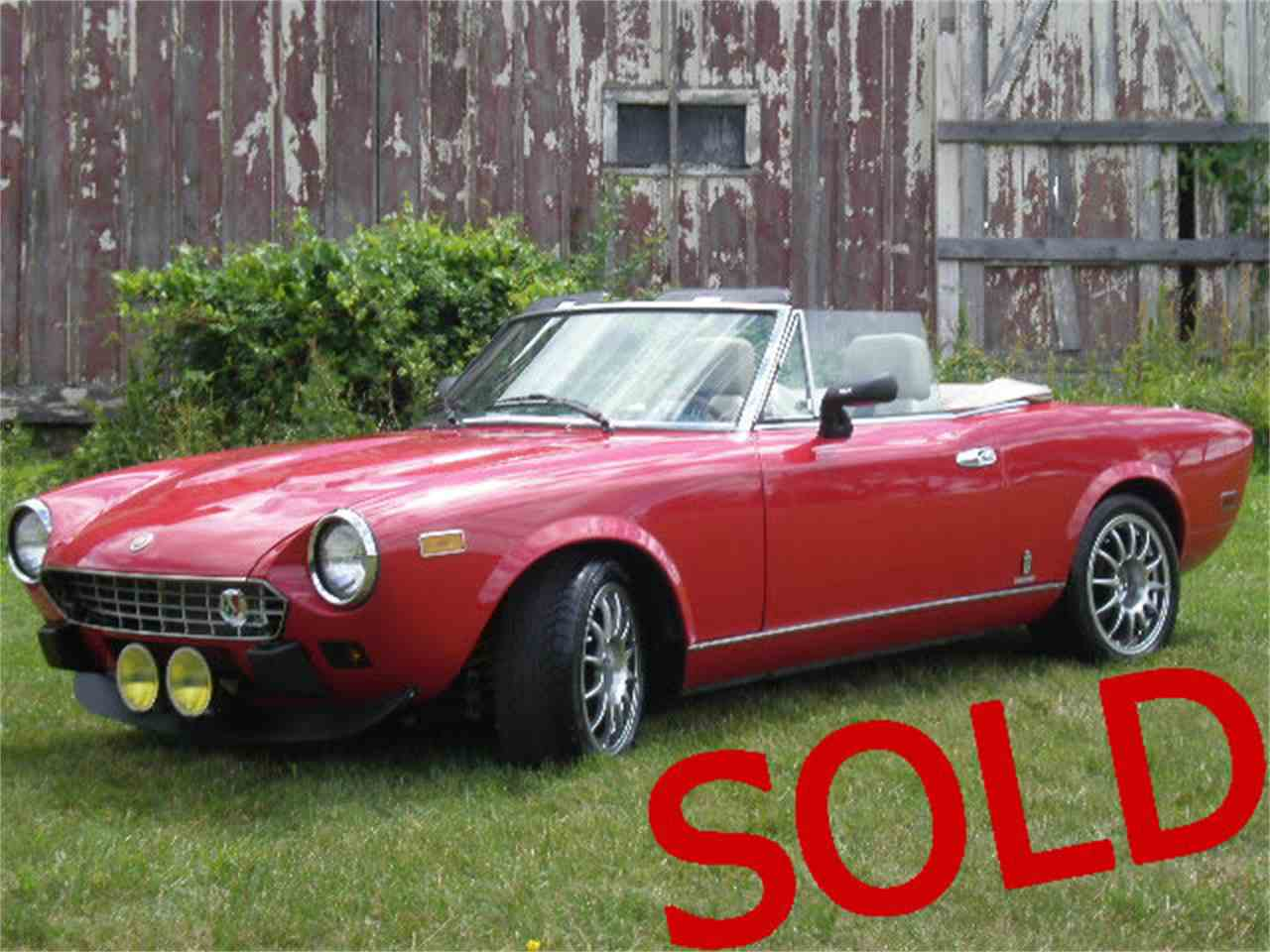 1981 Fiat Spider for Sale - CC-852701