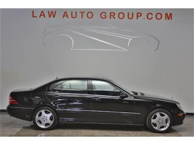 2002 Mercedes-Benz S55 AMG 6K ORIGINAL MILES | 854815