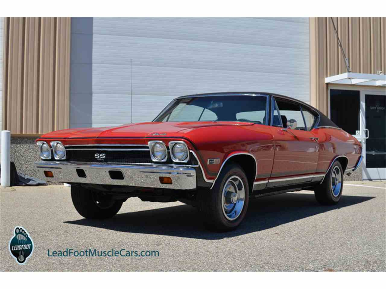 1968 chevrolet chevelle ss for sale cc 854891. Black Bedroom Furniture Sets. Home Design Ideas