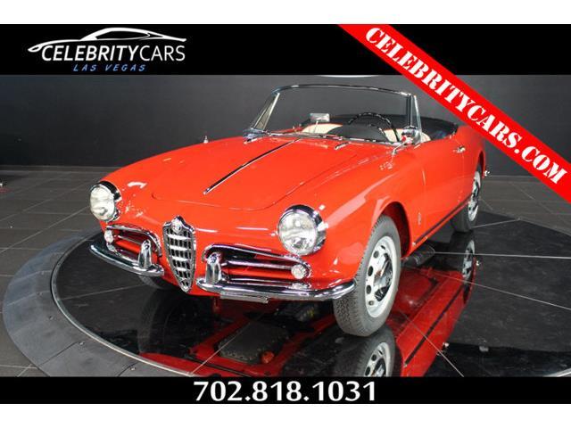 1960 Alfa Romeo Giulietta Spider Veloce | 854982