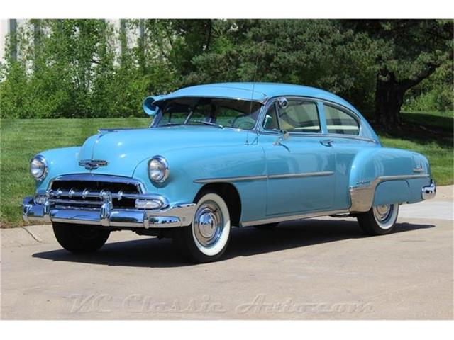 1952 Chevrolet Belaire Fleetline Deluxe Automatic, Air Conditioner | 857179