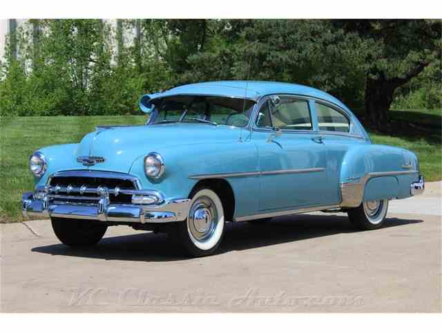 1952 Chevrolet Belaire Fleetline Deluxe Automatic, Air Conditioner