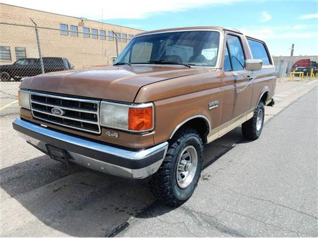 1989 Ford Bronco Eddie Bauer Edition | 861567