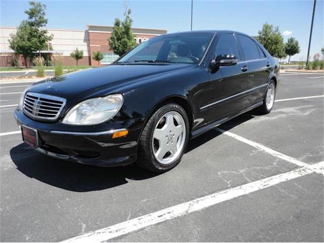 2001 Mercedes-Benz S-Class   861648