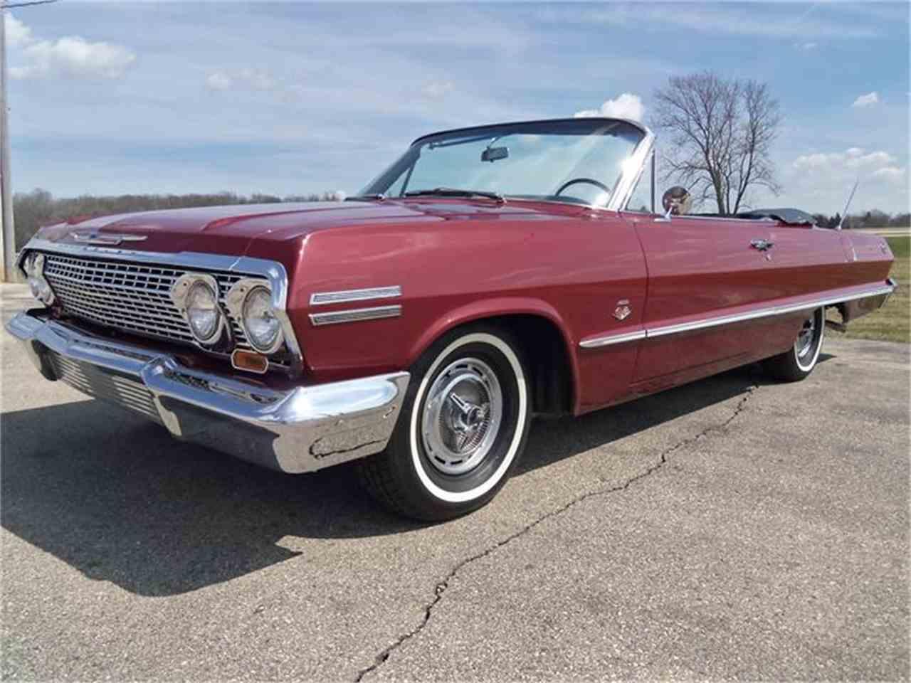 1963 chevrolet impala for sale cc 862869. Black Bedroom Furniture Sets. Home Design Ideas