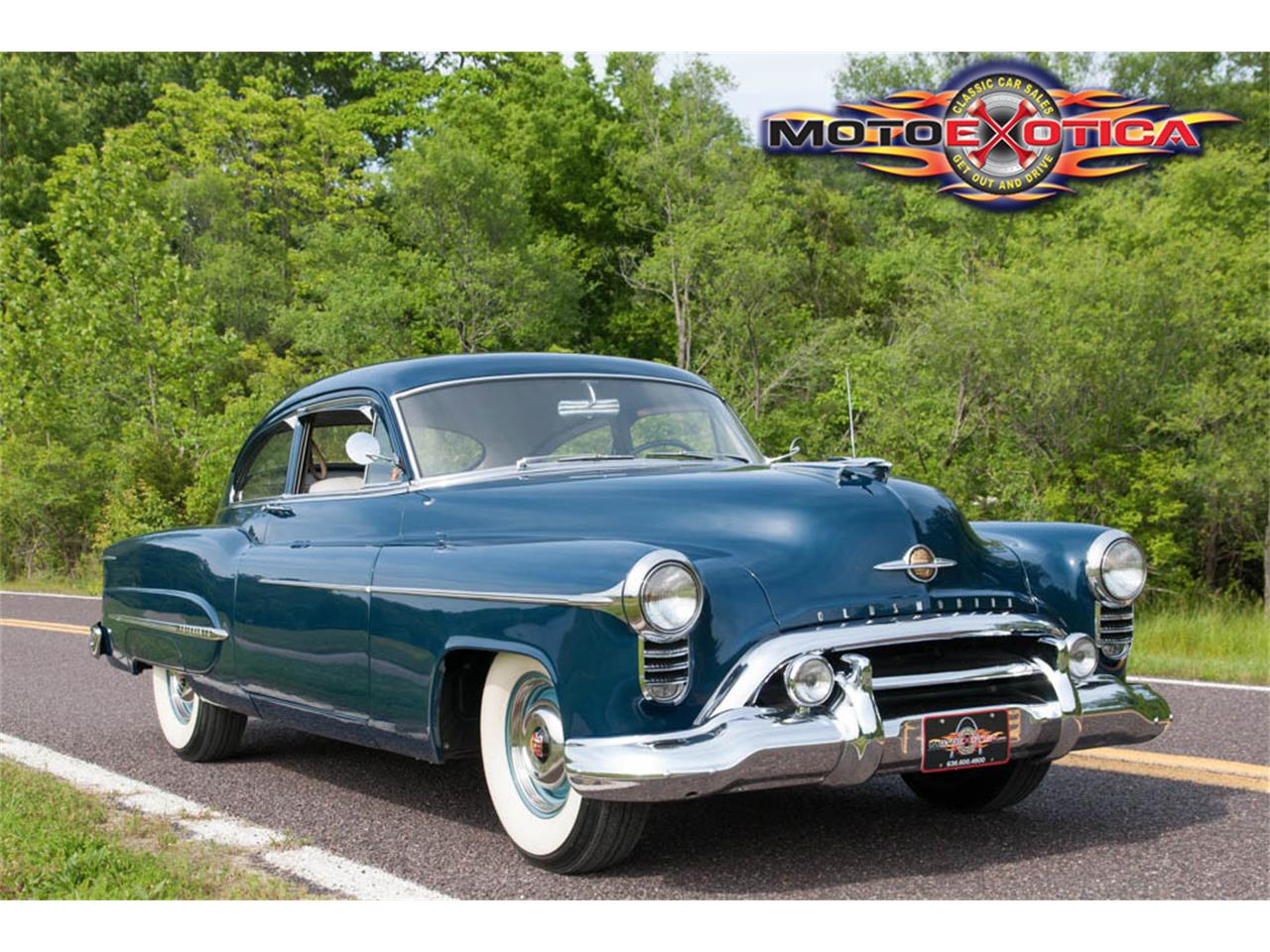 1950 oldsmobile 98 deluxe club sedan for sale cc 862914. Black Bedroom Furniture Sets. Home Design Ideas