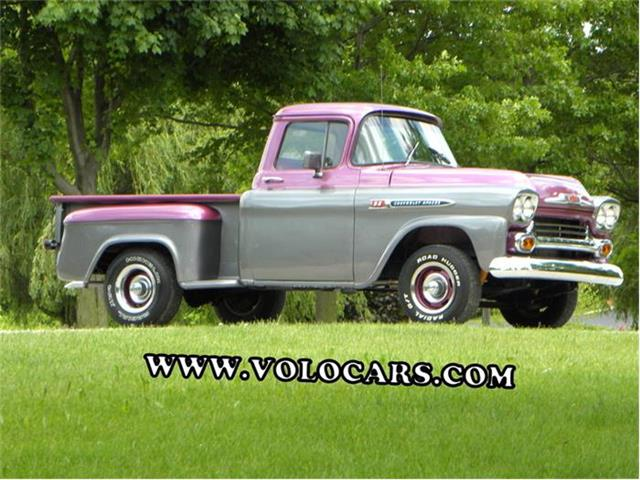 1959 Chevrolet Apache Short Bed Custom 32 | 863019