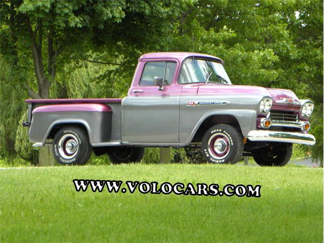 1959 Chevrolet Apache Short Bed Custom 32 | 863019