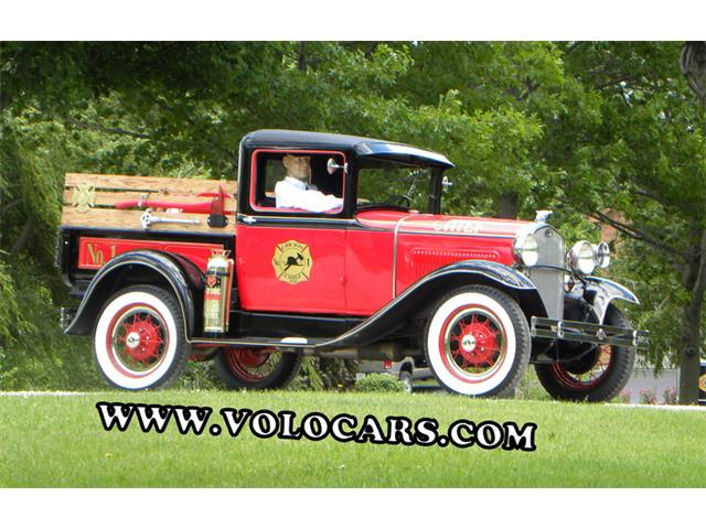 1930 Ford Model A Fire Chief Truck | 863026