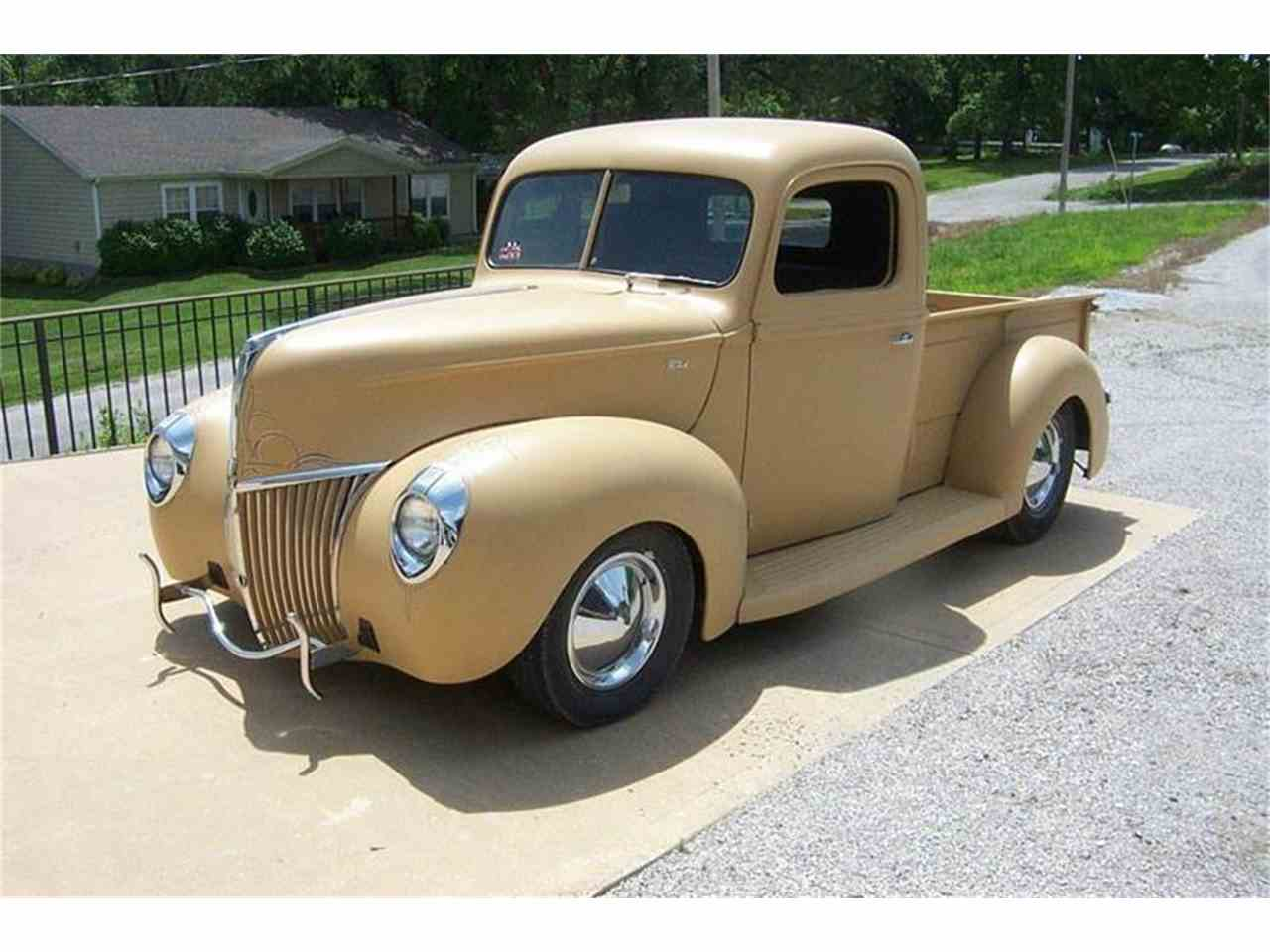 1940 Ford F100 for Sale | ClassicCars.com - 73.2KB