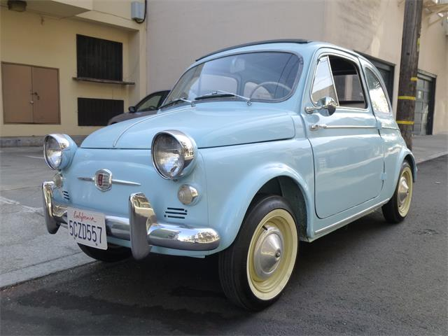 1958 Fiat Nuova 500 America | 865258